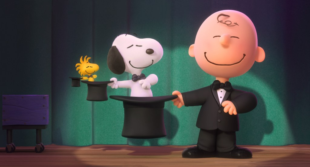 Charlie Brown and Snoopy in Peanuts Movie
