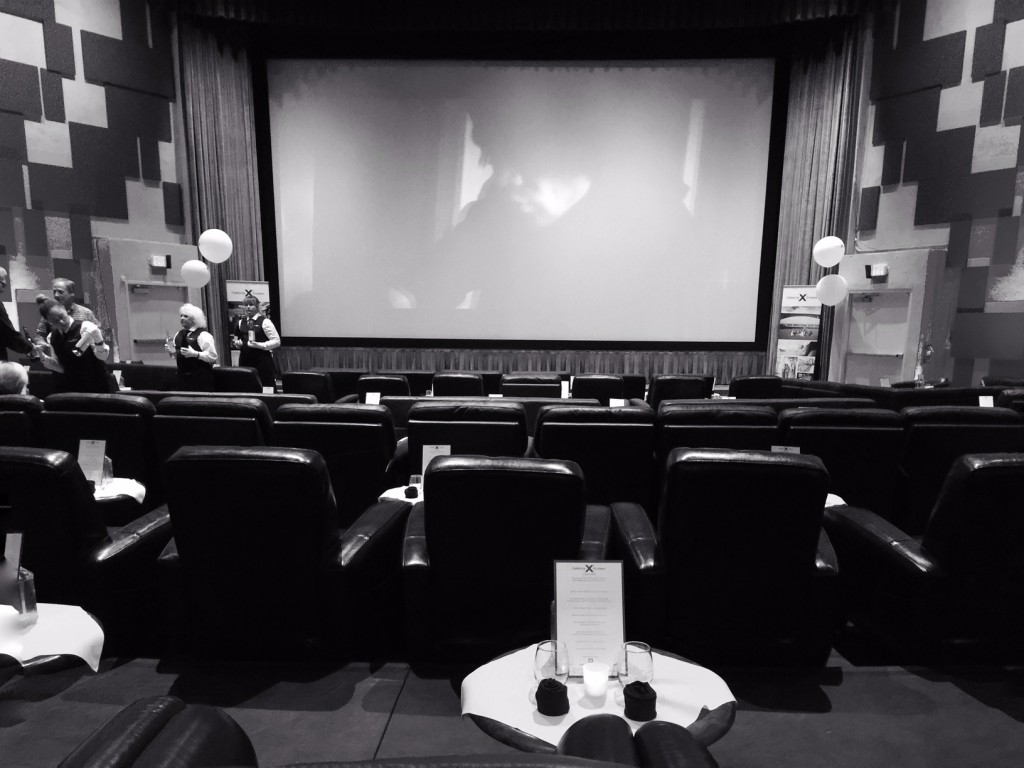 Inside the Port Theater