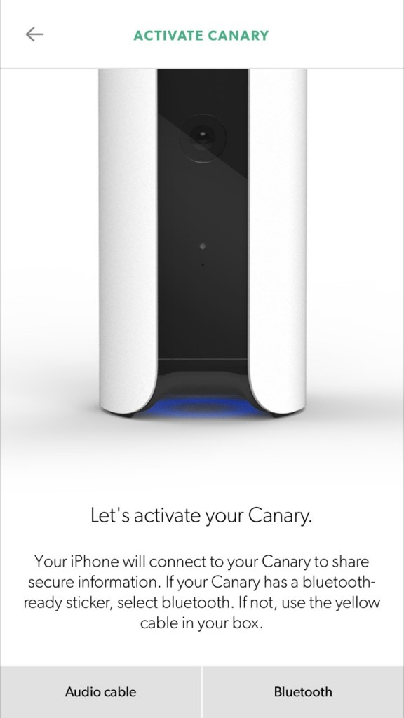 Activate the Canary Home Security System