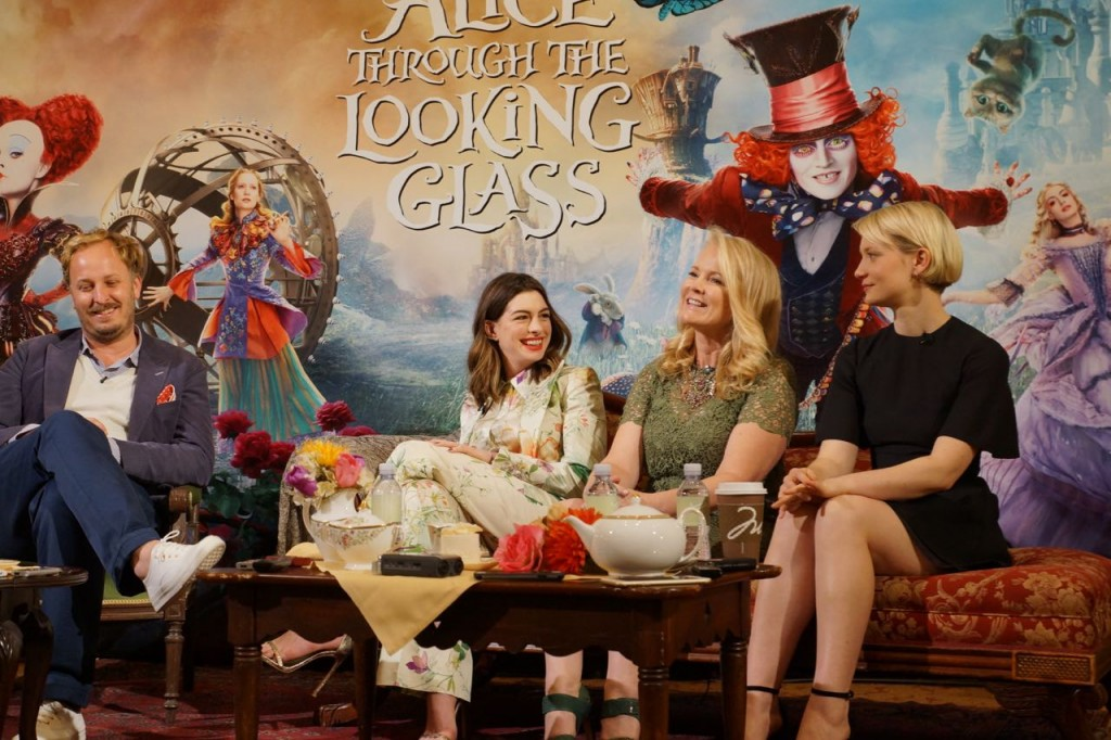 Alice Throught the Looking Glass Interview