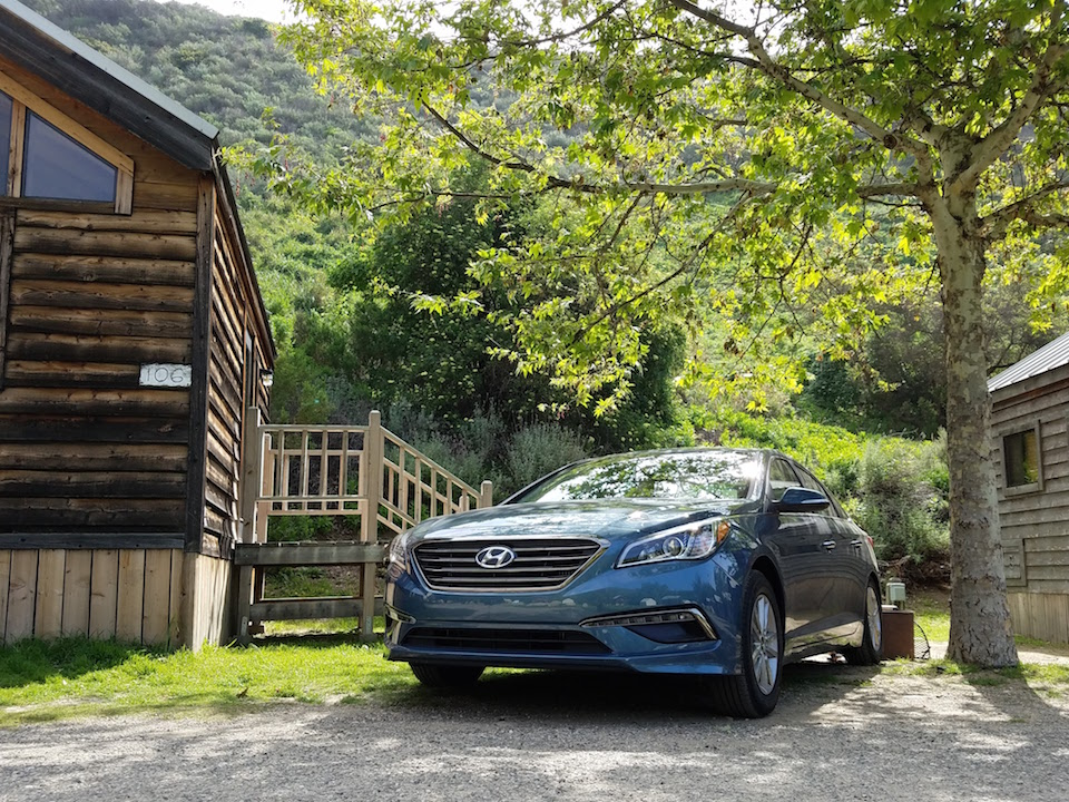 Camping with the Hyundai Sonata