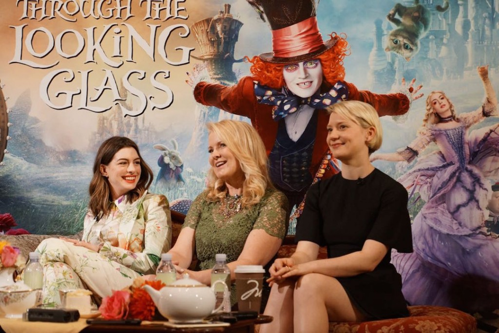 Cast of Alice Through the Looking Glass