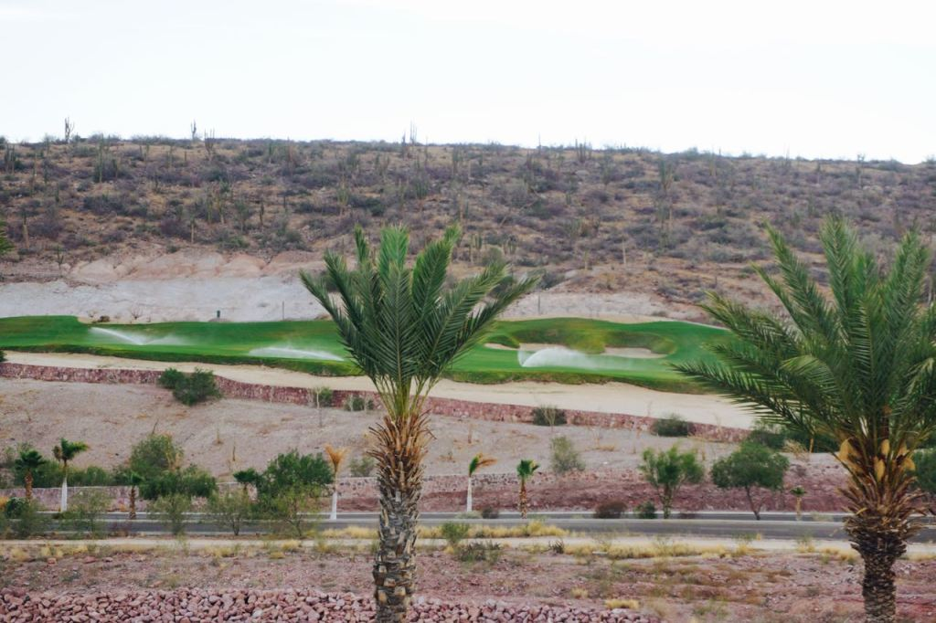 Golf course at Costa Baja Resort & Spa