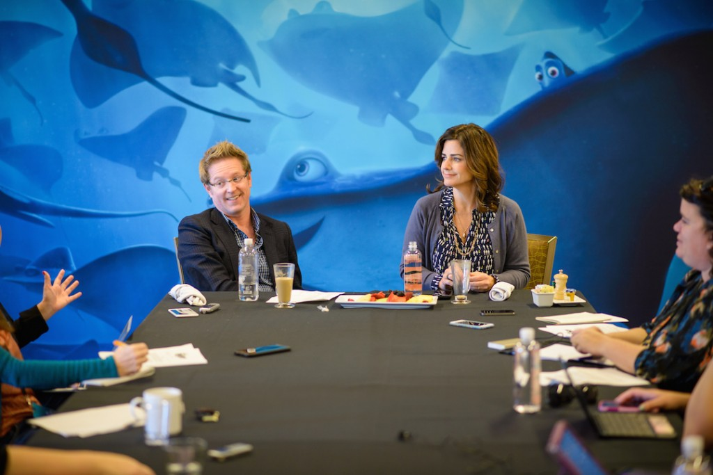 Interview with the filmmakers for Finding Dory