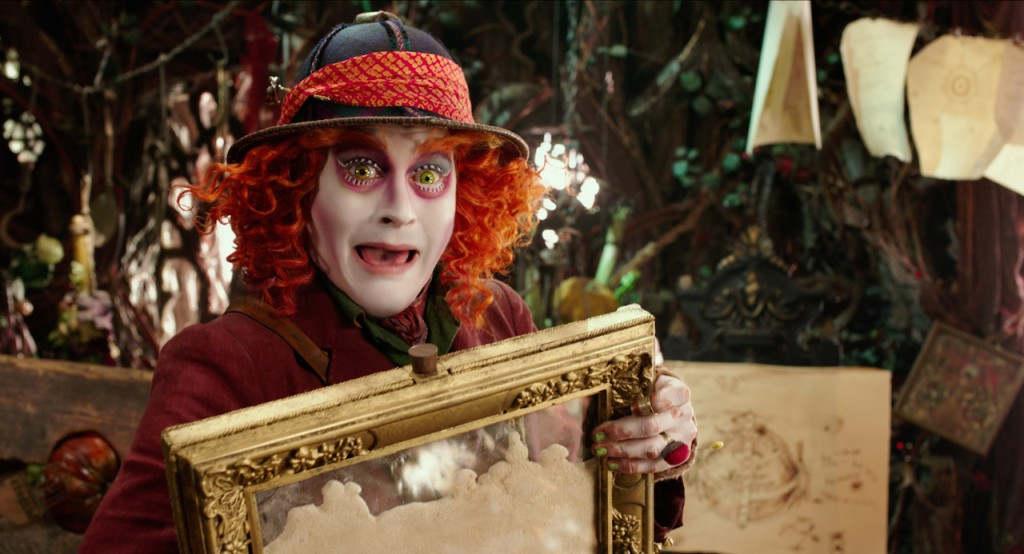 Johnny Depp in Alice Through the Looking Glass