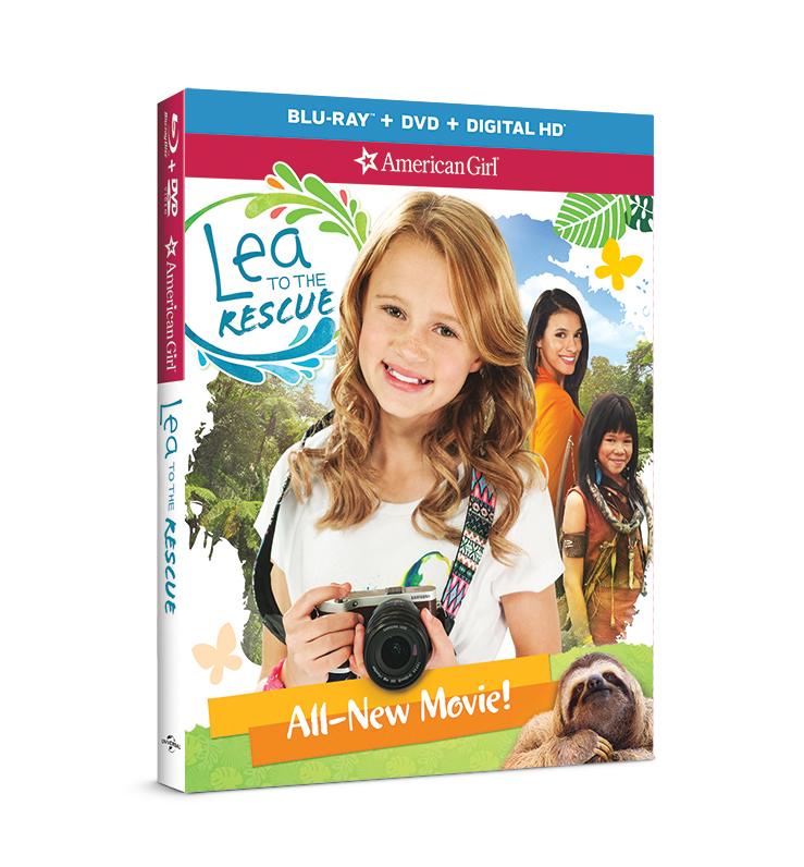 Lea to the Rescue DVD-BR LR