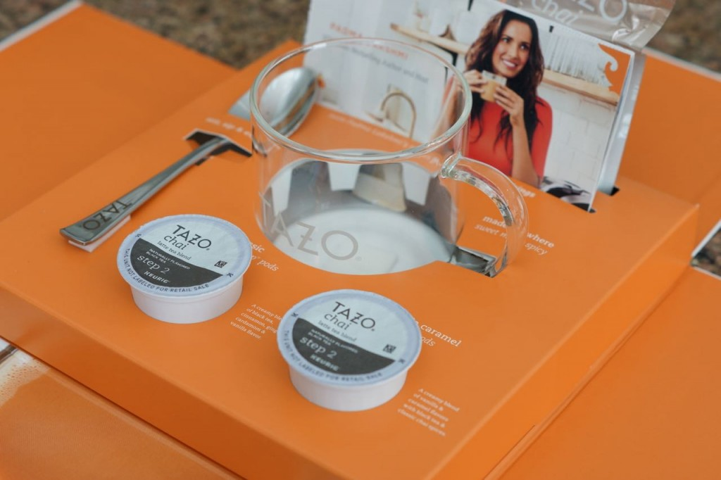 TAZO Tea kit
