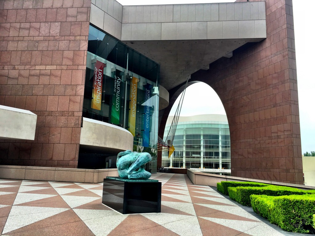 The Entrance to the Segerstrom Center for the Arts