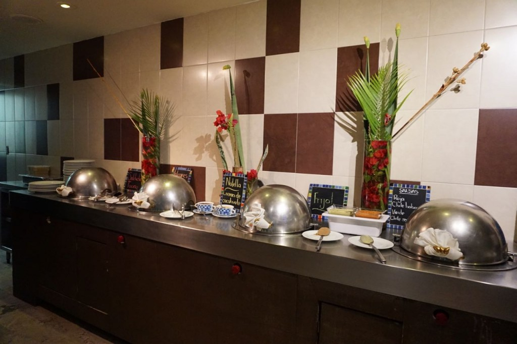 breakfast buffet at Costa Baja Resort & Spa