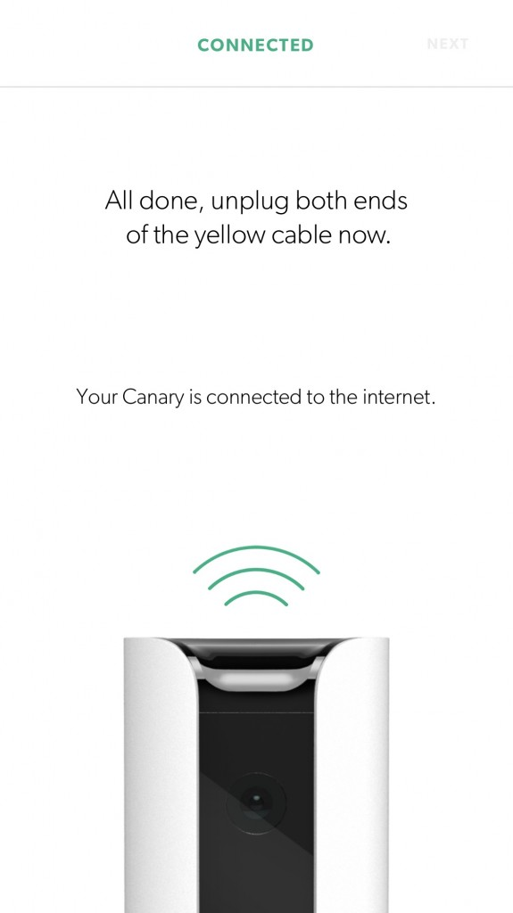 connected Canary Home Security