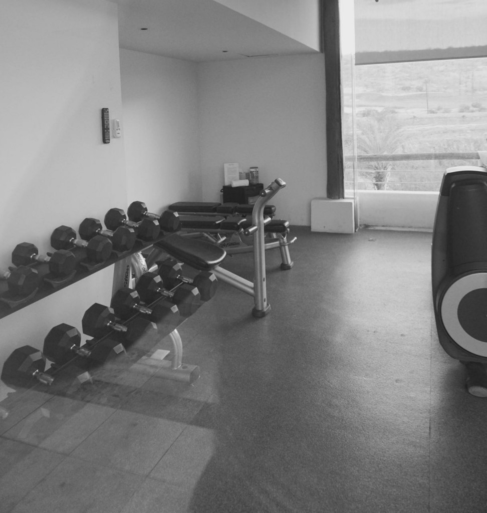gym at Costa Baja Resort & Spa