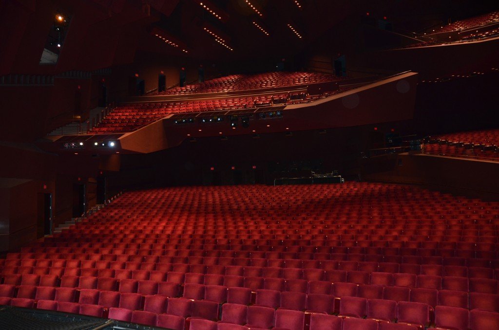 inside of the sergerstrom before newsies