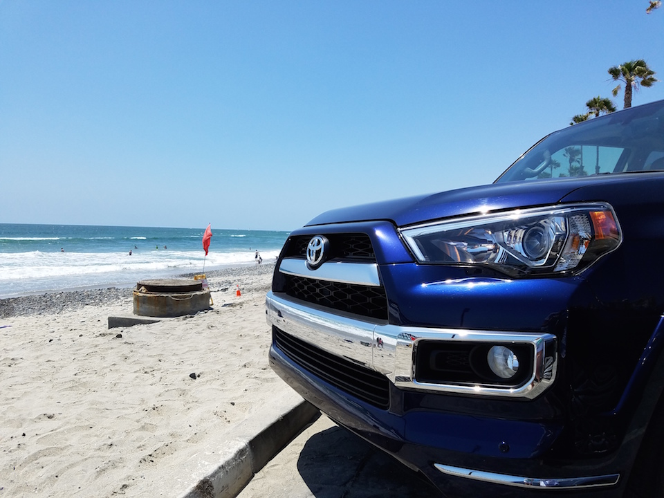 4Runner at Beach