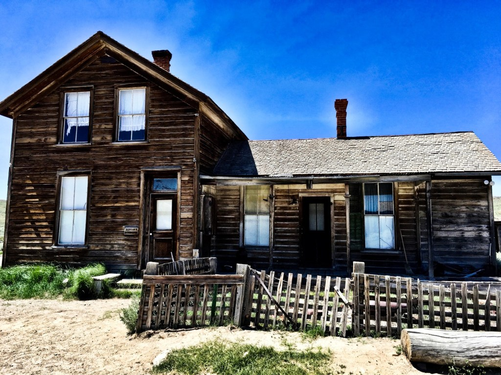 An old house in Bodie
