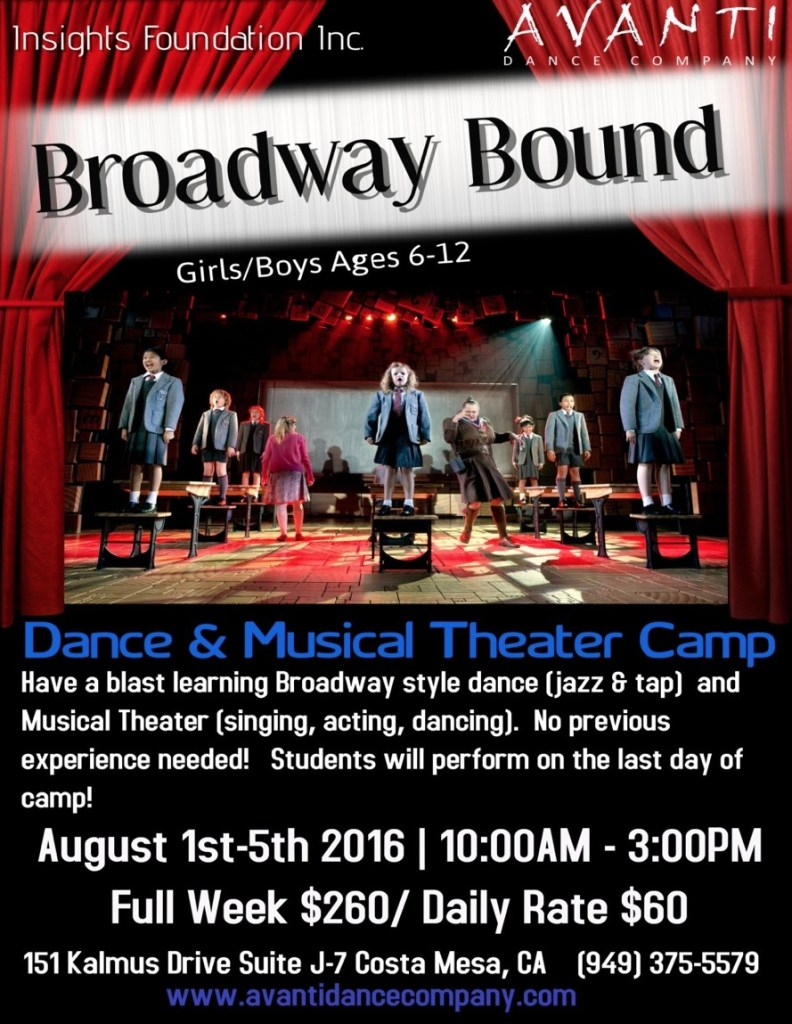 Avanti Broadway Summer Camp