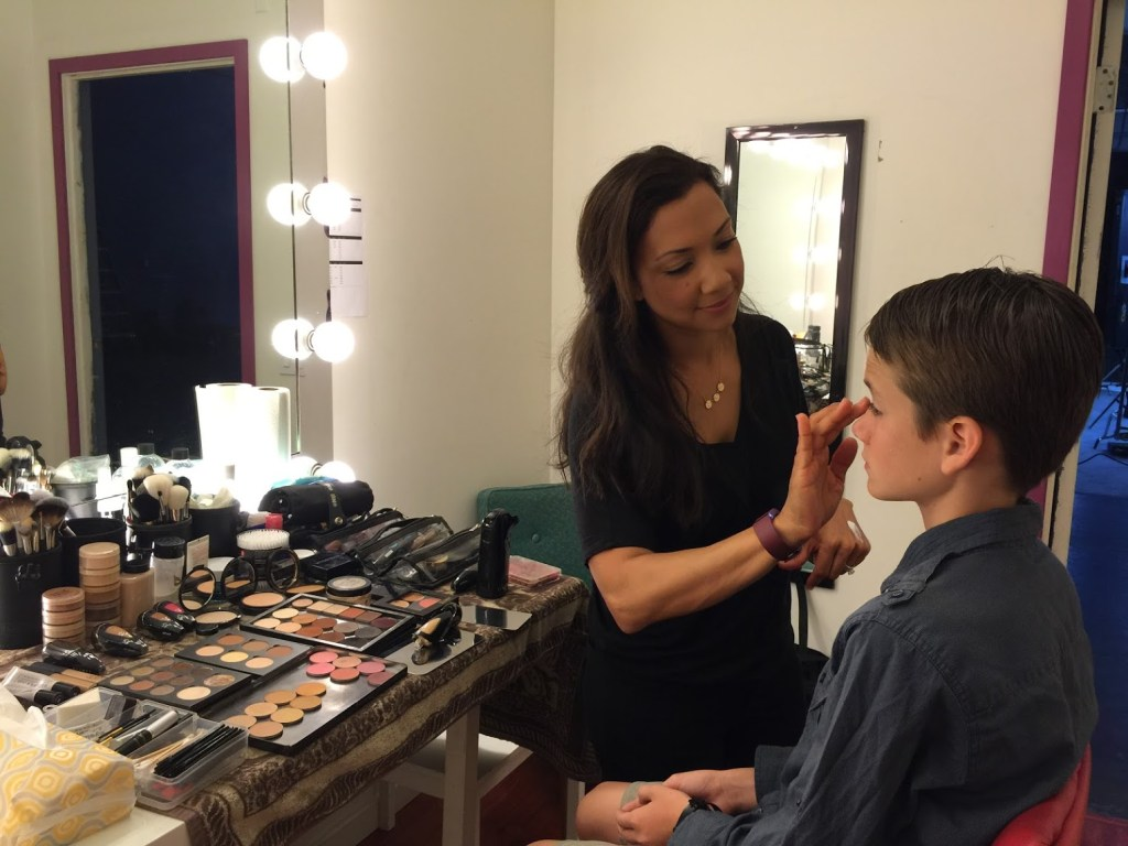 Hair and Make-up for Invisalign campaign