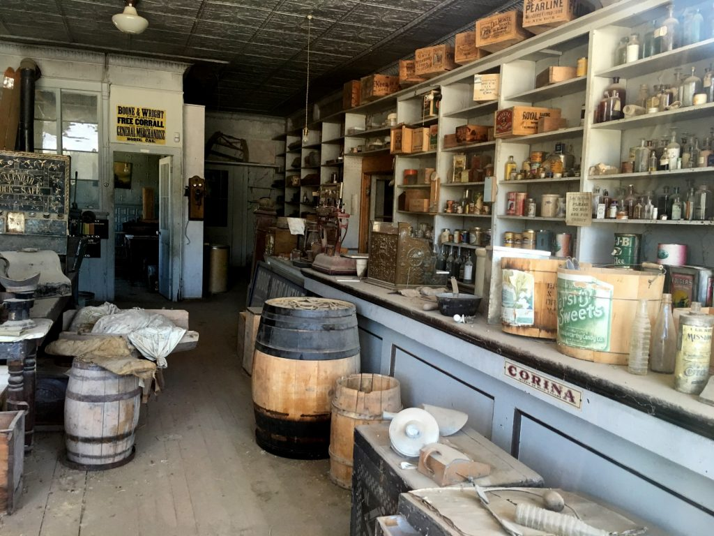 Kitchen supplies in Bodie