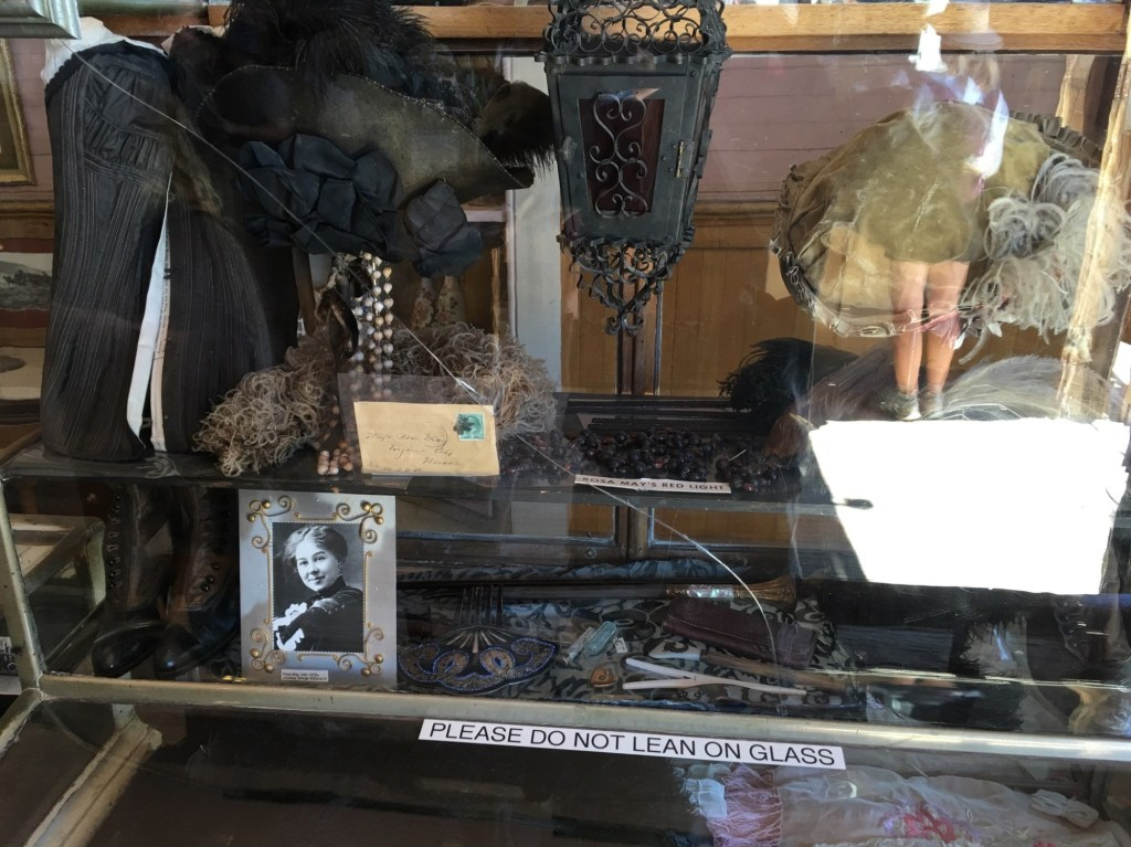 Memorabillia from people who lived in Bodie