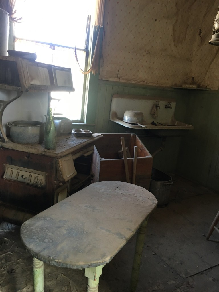 Old kitchen tools in Bodie