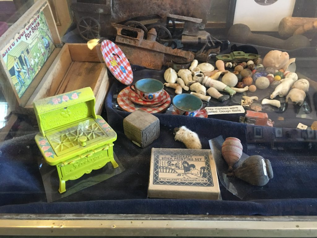Toys from kids in Bodie