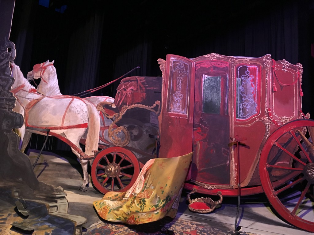 carriage in Pageant of the Masters