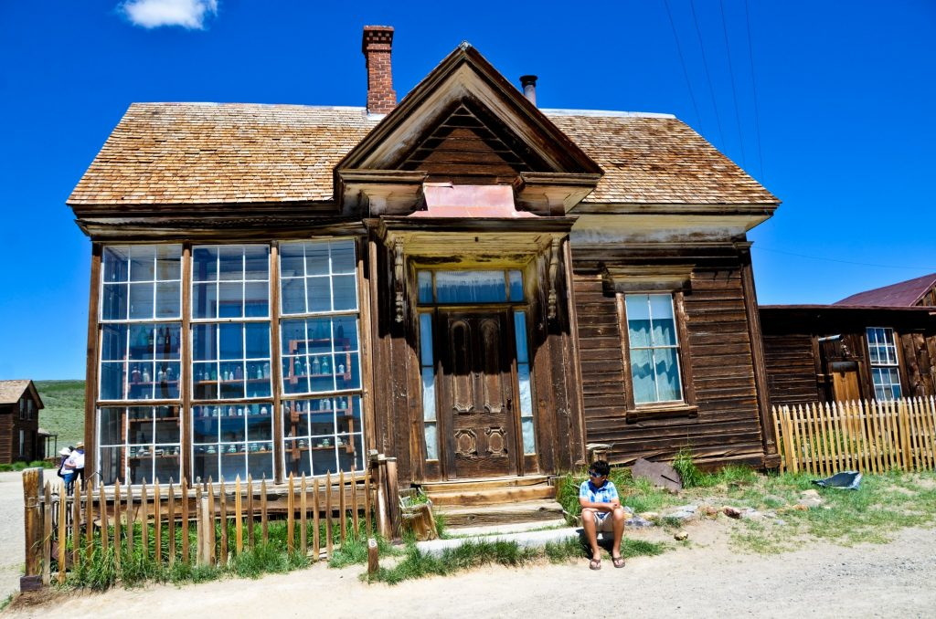 historical buildings in bodie