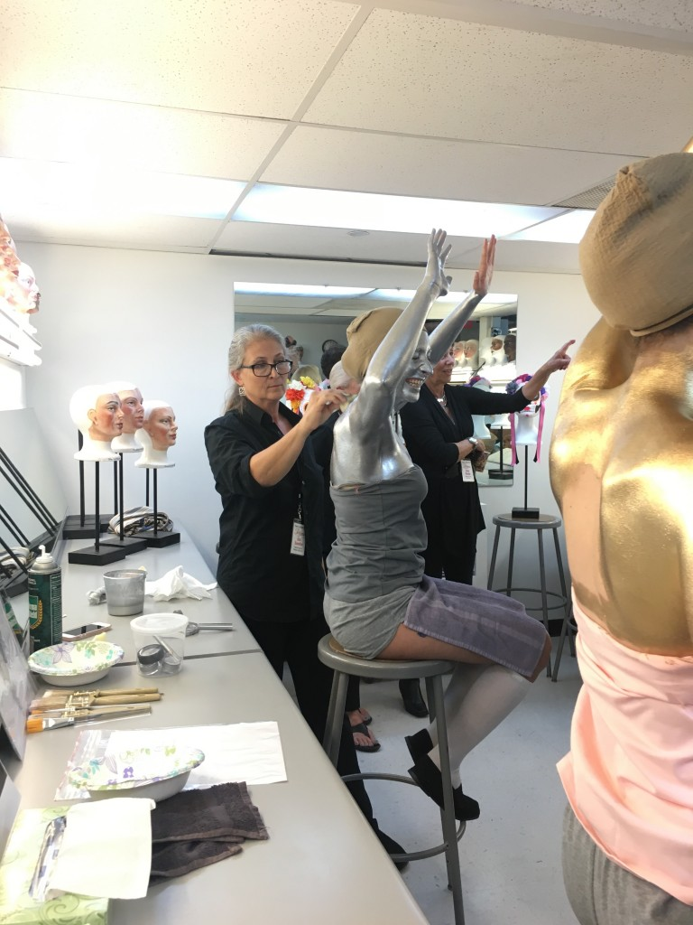 make-up artist in Pageant of the Masters