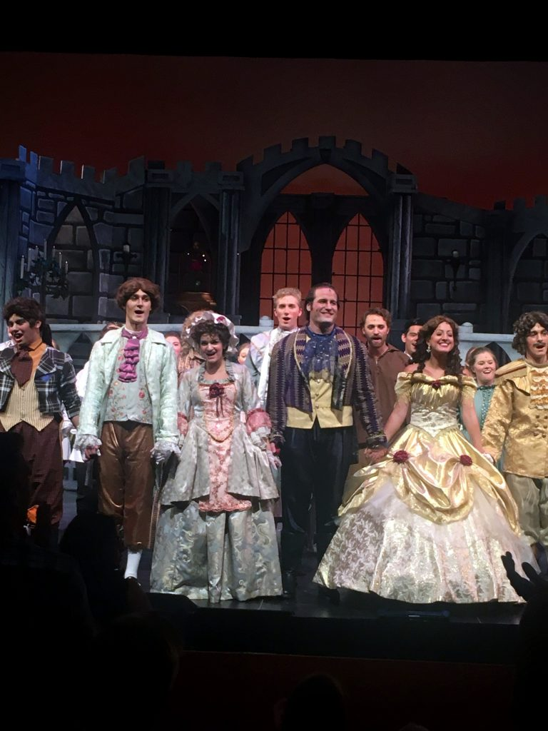 Amazing Beauty and the Beast production