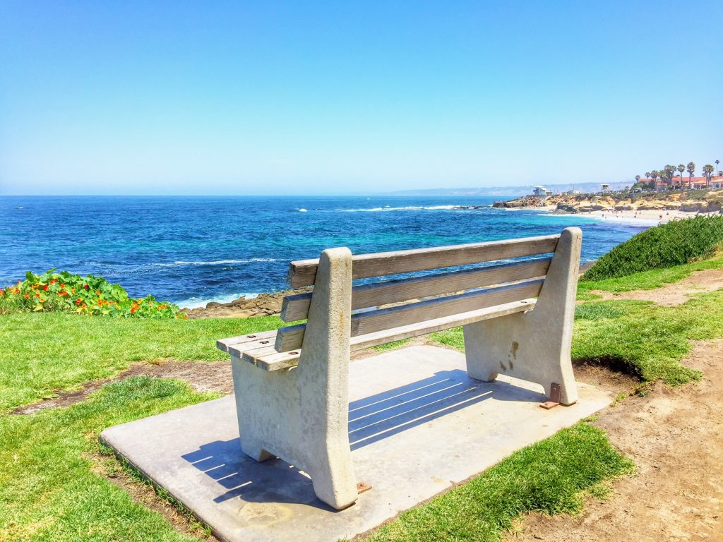 Bench in La Jolla