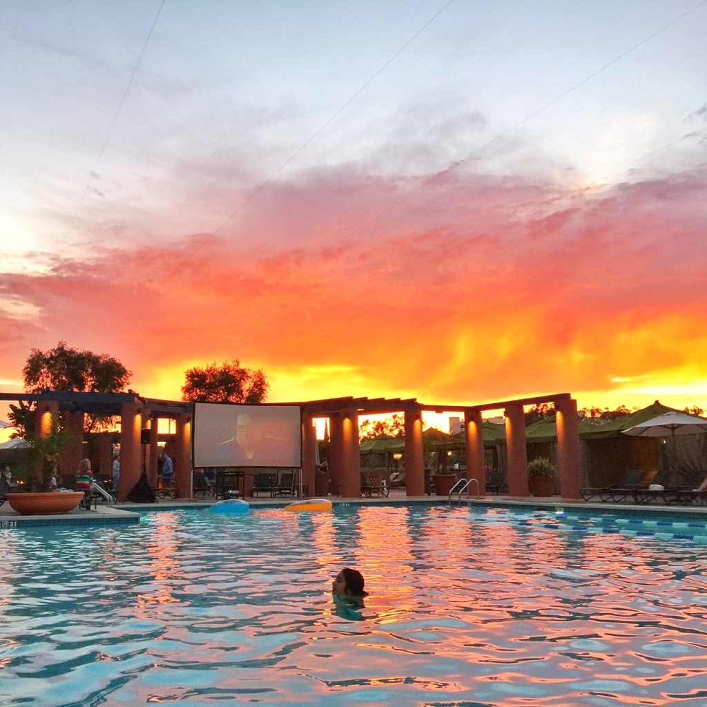 Dive in Movie at Hyatt La Jolla