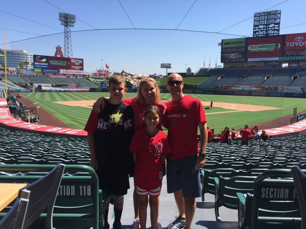 Family Tour of Angels Stadium
