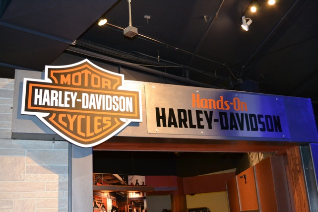 Hands-On Harley fun at DSC