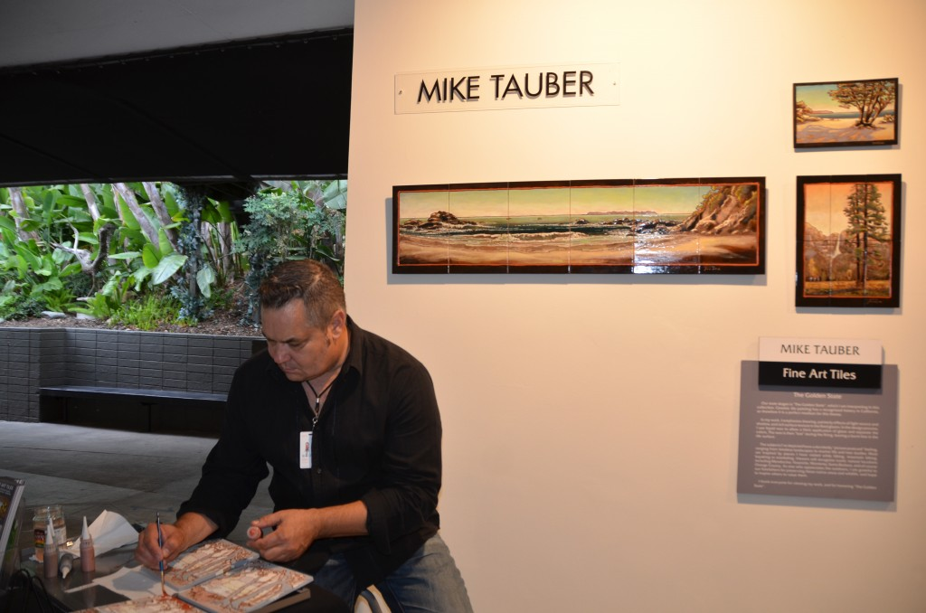 Mike Tauber at the Festival of Arts