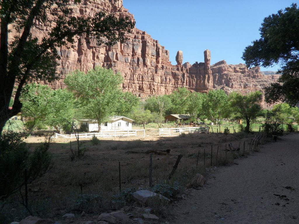 Entering the Village of Supai
