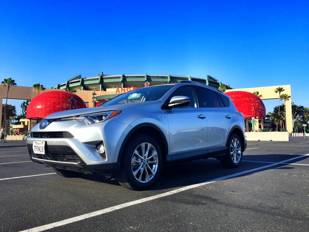 Toyota Rav4 at Angel's Stadium