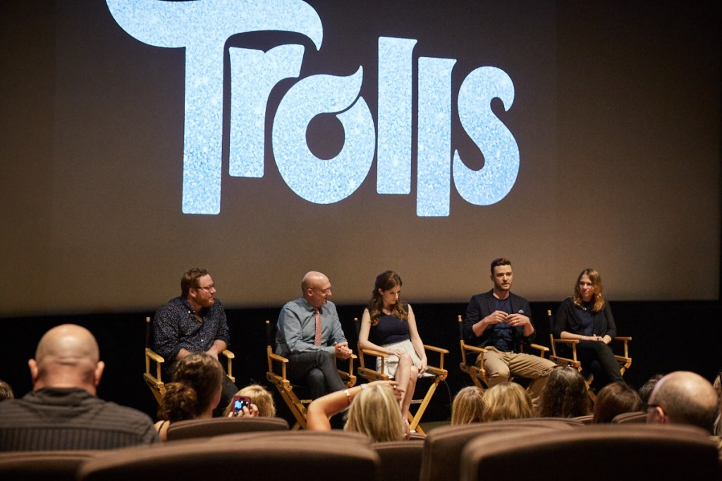 Trolls Movie Cast Interview