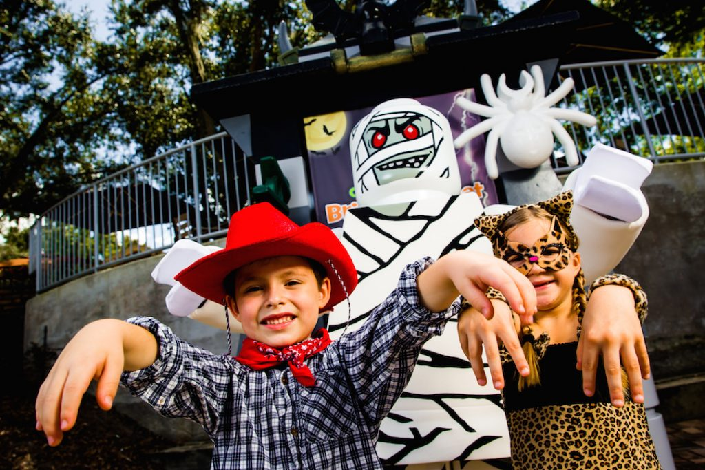 BRICK-OR-TREAT AT LEGOLAND Florida Resort