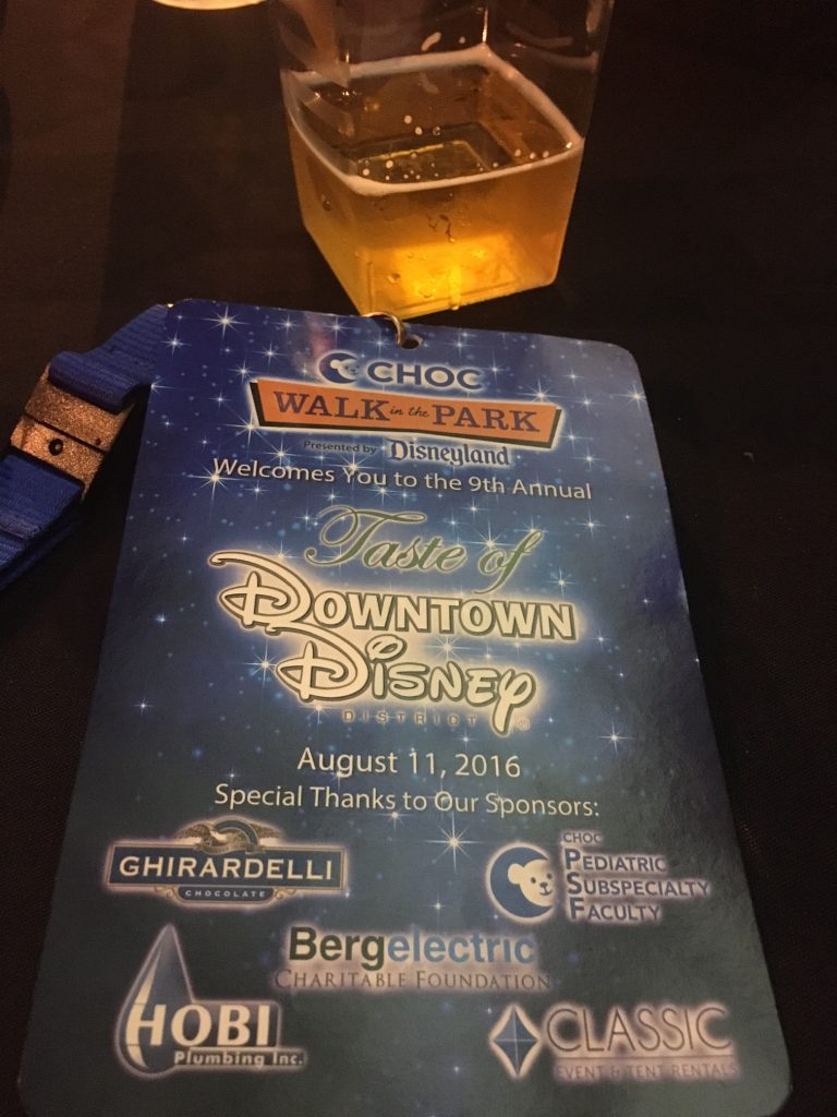 9th annual Taste of Downtown Disney