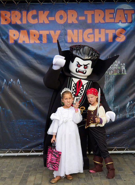 Brick-or-Treat and Party Nights at Legoland