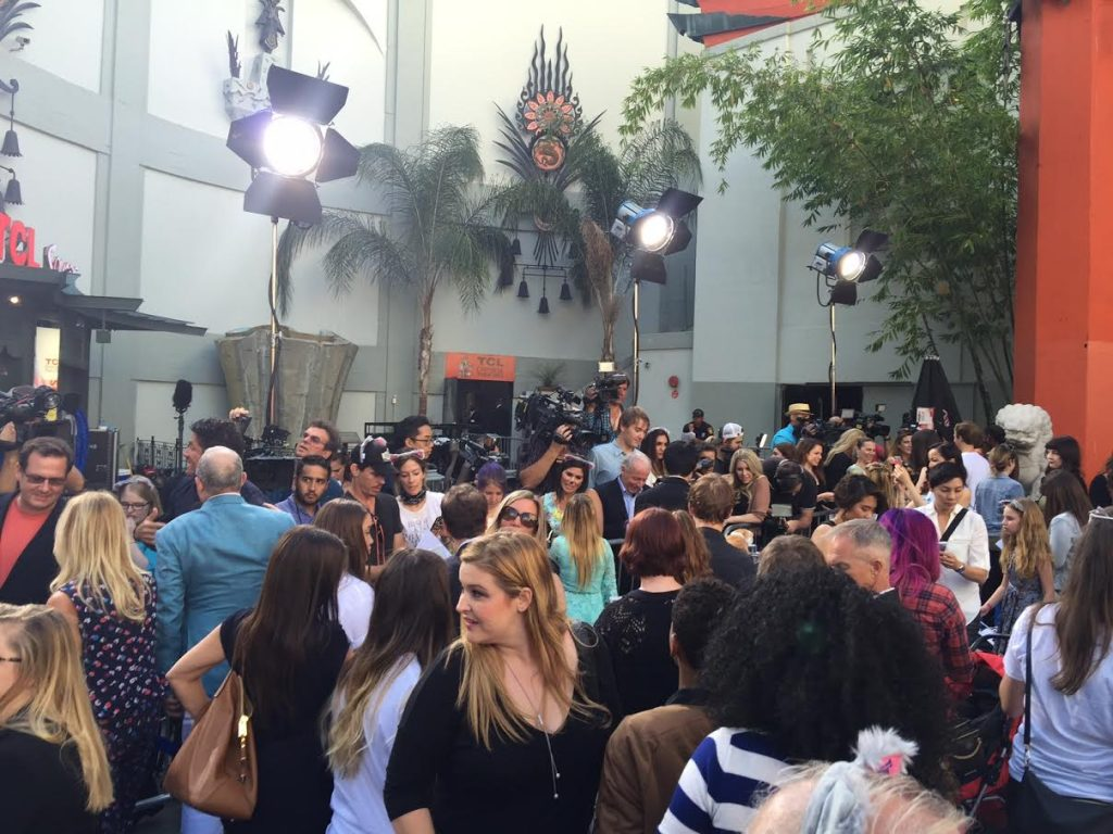 Celebrities at the Nine Lives Premiere
