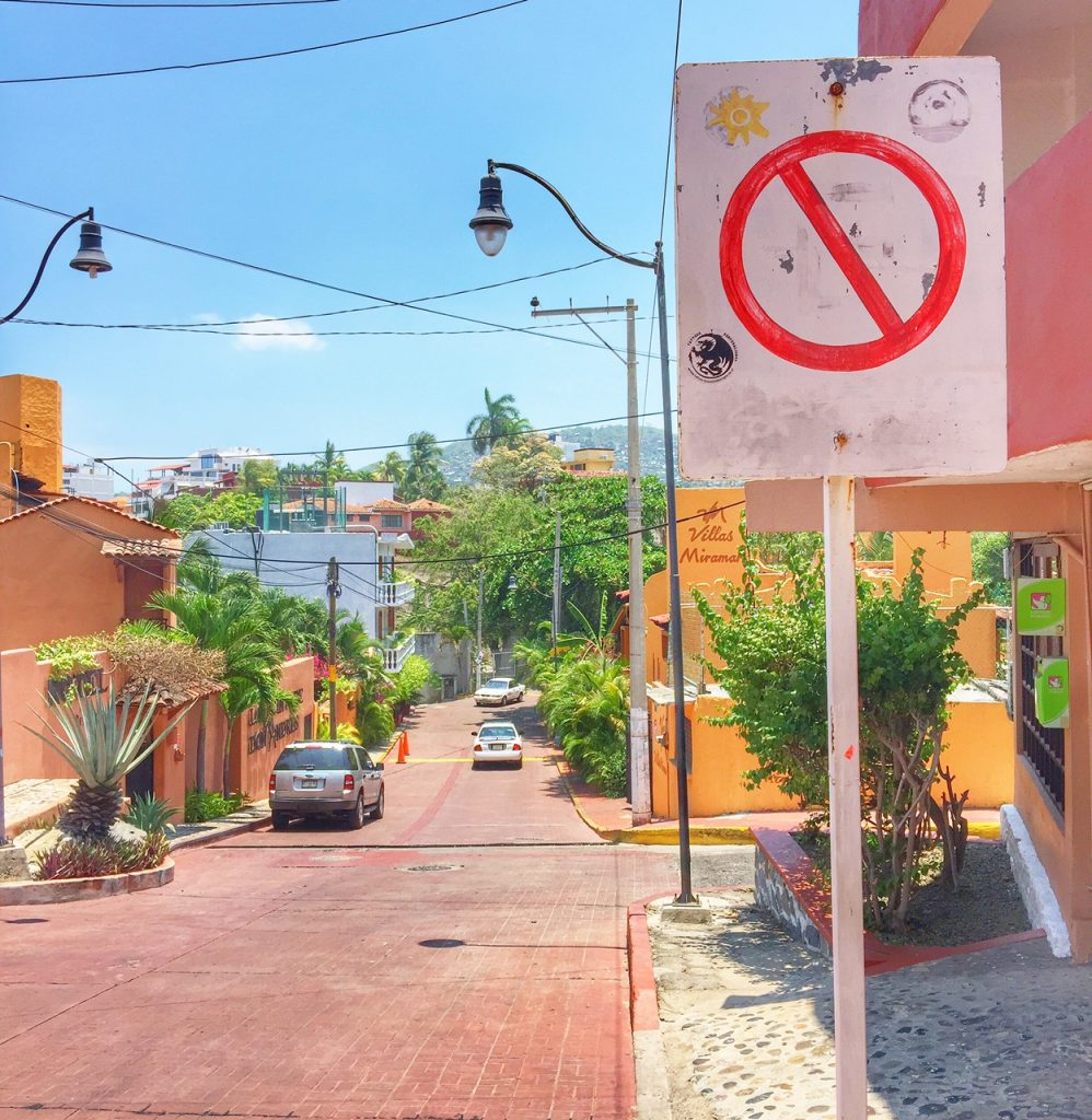 Downtown Zihuatanejo