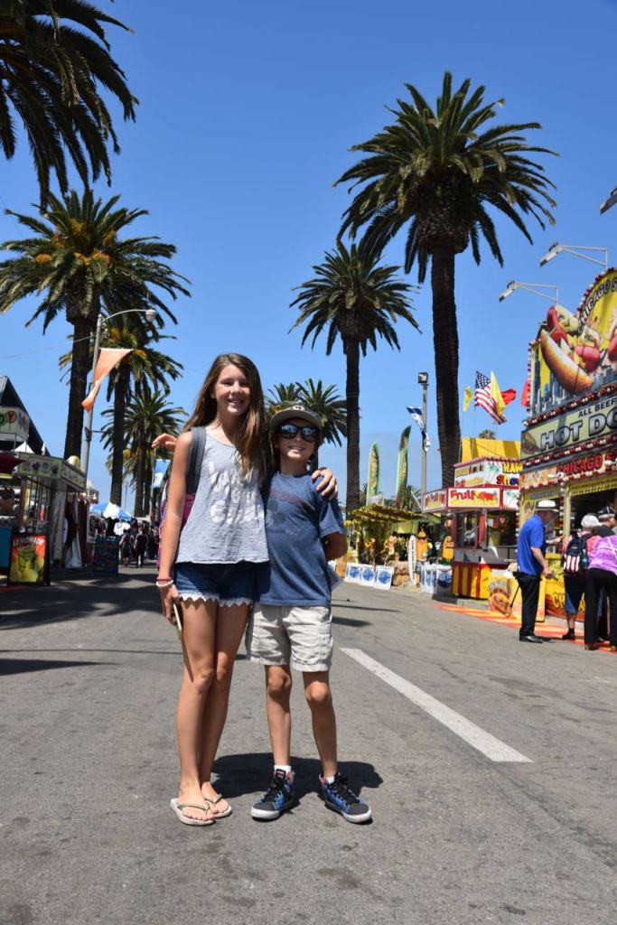 Ella and Ty at the Fair