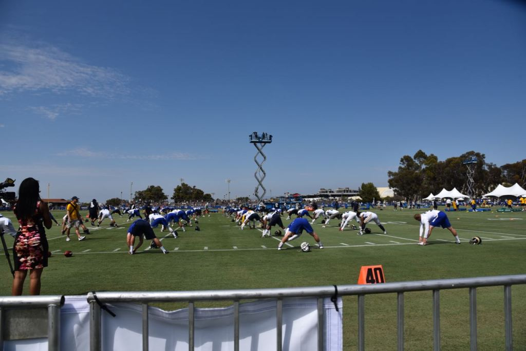 LA Rams Training Camp