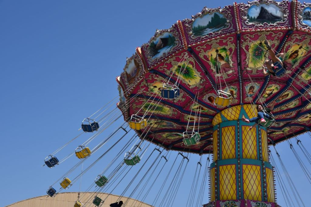 Swings at the Ventura County Fair