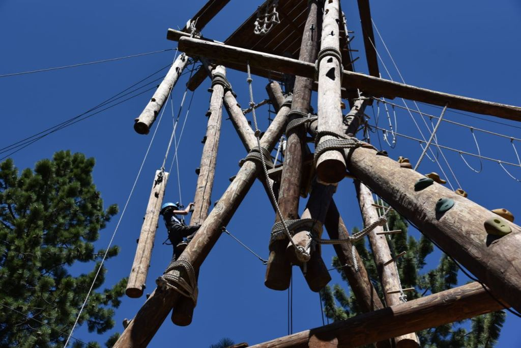 epic high ropes adventure