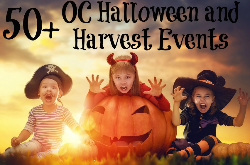 50+ OC Halloween and Harvest Events