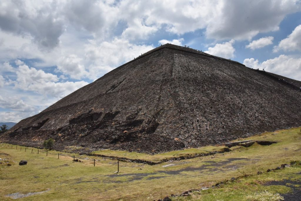 Beautiful Teotihuacan Pyramid