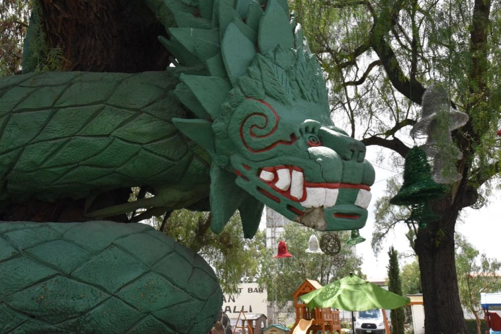 Dragon Gran Teocalli Mexico City