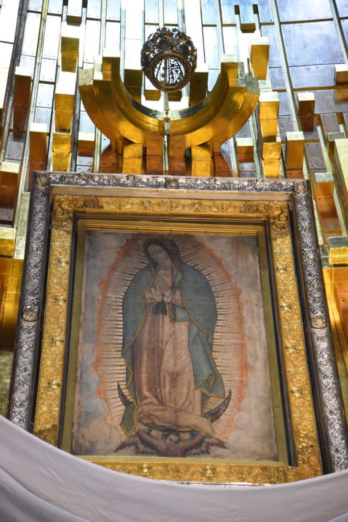 Our Lady of Guadalupe in Mexico City