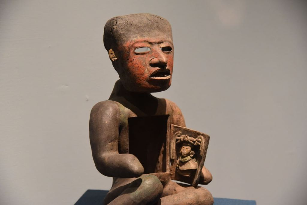 Teotihuacan Statue Showing Birth of Baby